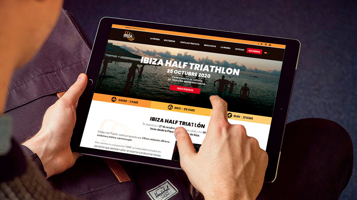Ibiza Triathlon | Carlos Villarin · Freelance Wordpress
