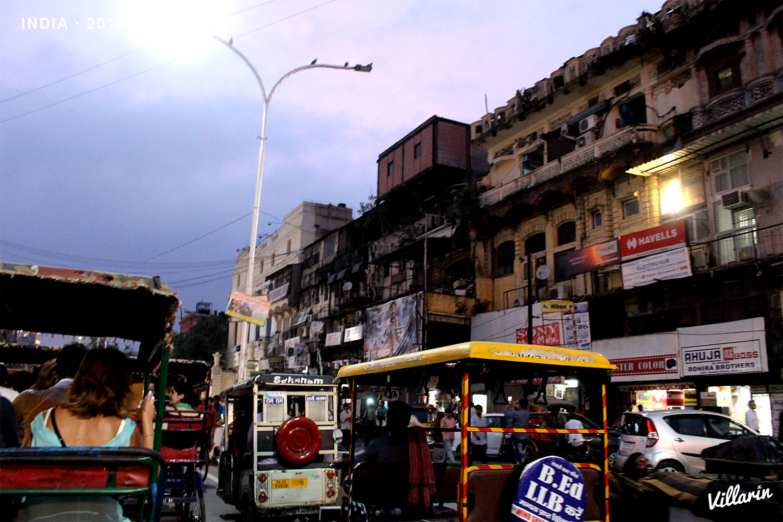 Calles de Old Delhi | Carlos Villarin · Fotografía