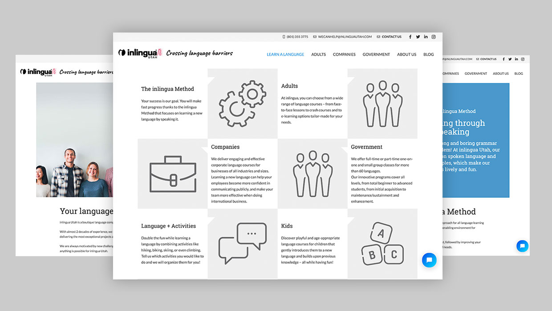 inlingua Utah | Carlos Villarin | Front End Developer en Wordpress