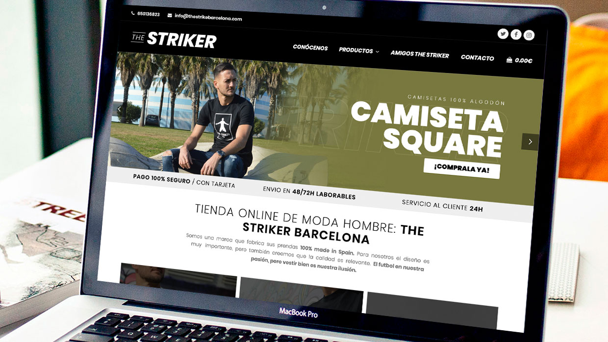 The Striker Barcelona | Carlos Villarin | Experto En Wordpress Ecommerce